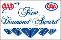 AAA Five Diamond Award Logo