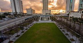 Gateway Park at sunrise