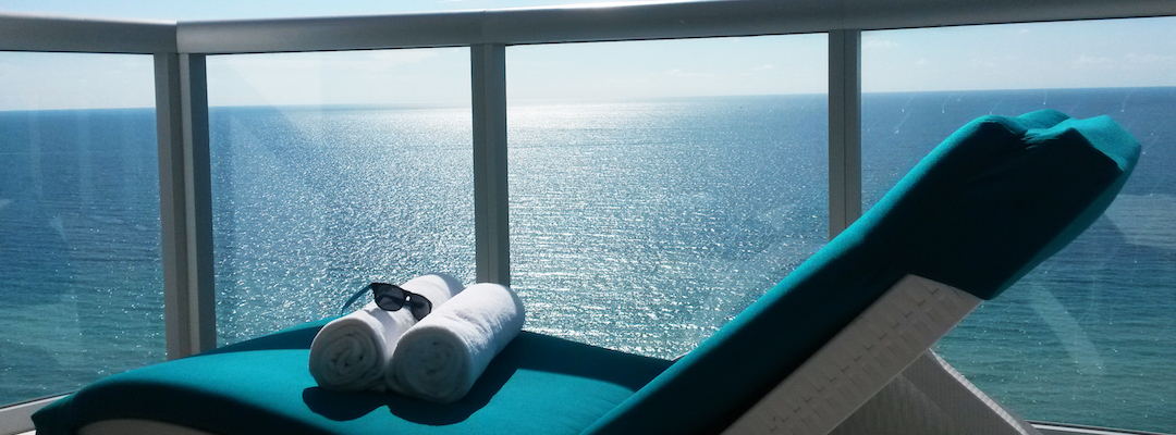 Relax and unwind with an oceanfront view in Sunny Isles Beach