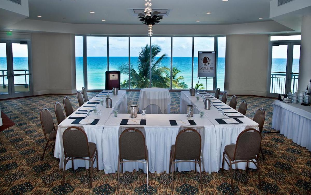 Doubletree by Hilton Ocean Point Resort - Meeting Room Atlantic Point Direct View