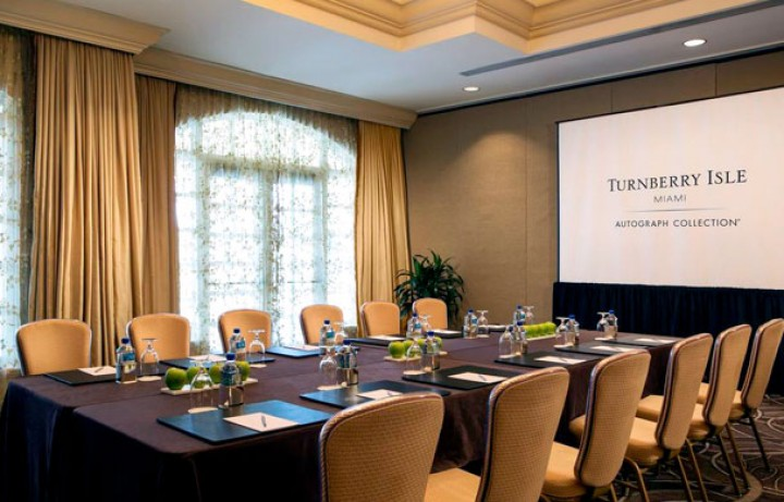 Conference room at the Turnberry Isle Miami