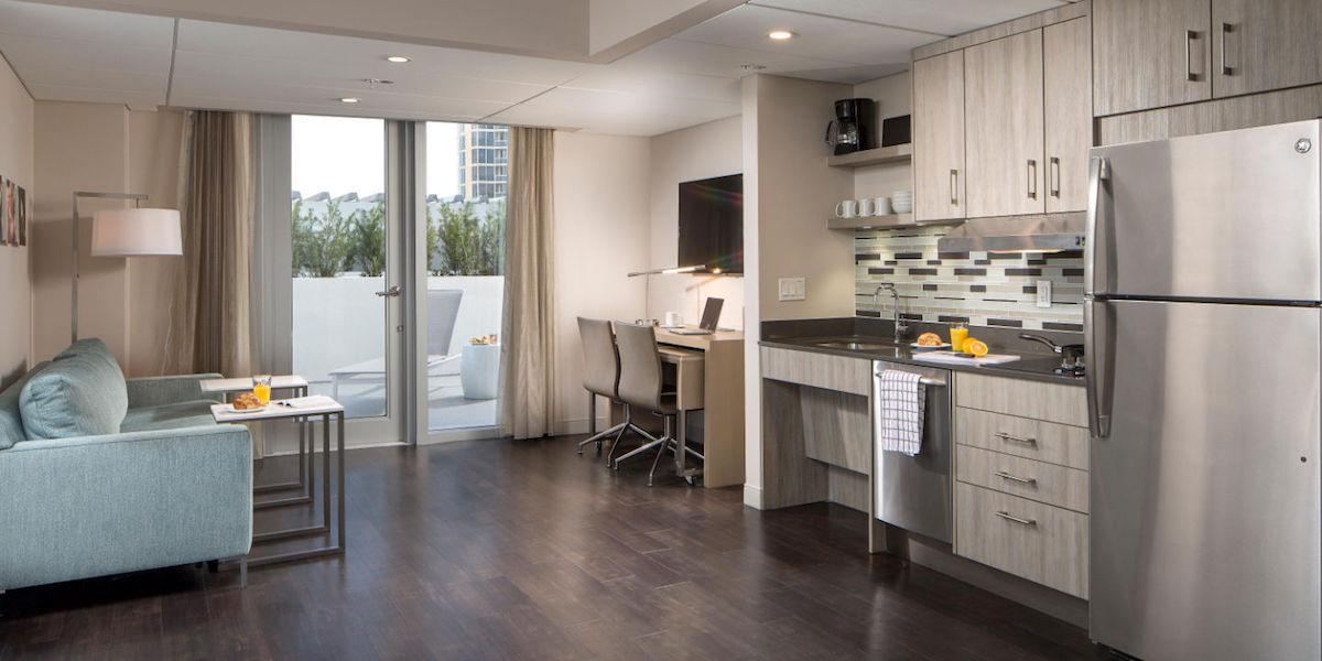 Residence Inn Miami Sunny Isles Beach Queen City Balcony View
