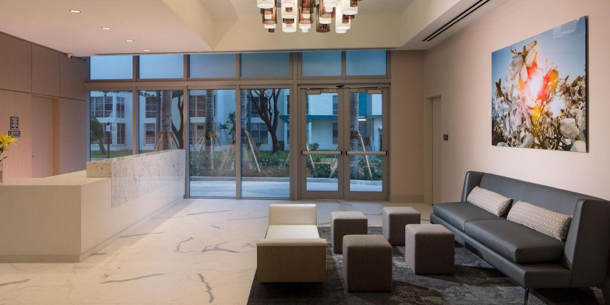 Residence Inn Miami Sunny Isles Beach Lobby