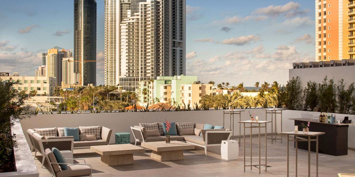 Residence Inn Miami Sunny Isles Beach Top Floor View