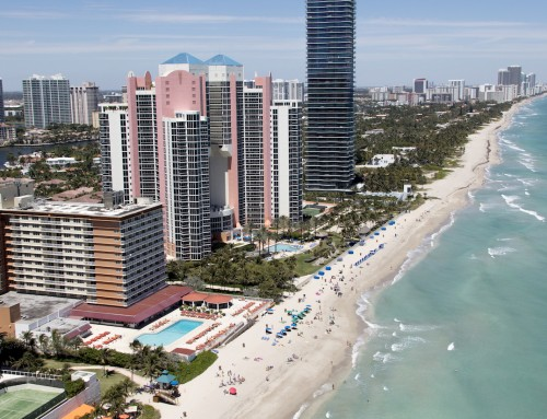 Beach Sand Renourishment Project in Sunny Isles Beach