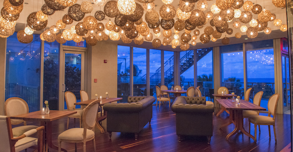 Fresh American Bistro dining room at Sole on the Ocean