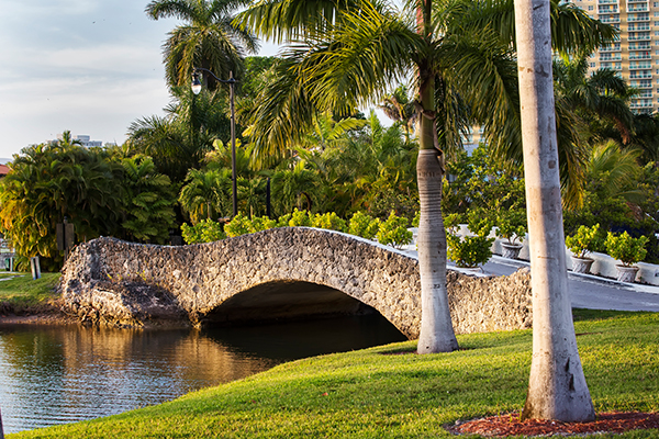 Intracoastal Park bridge