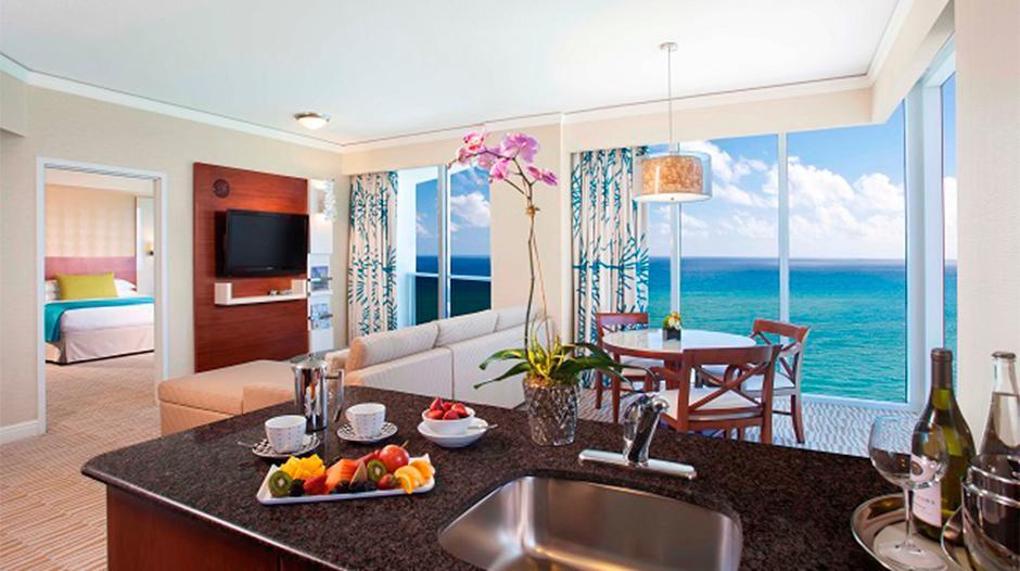 Suite at the Trump International Beach Resort