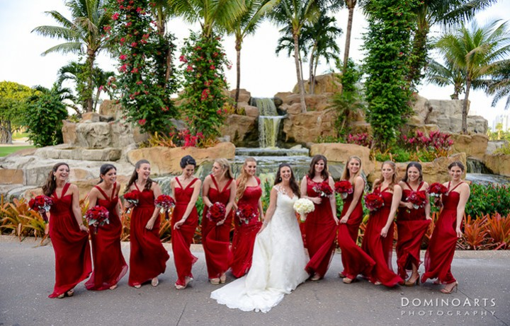 Wedding Party at Turnberry Isle Miami