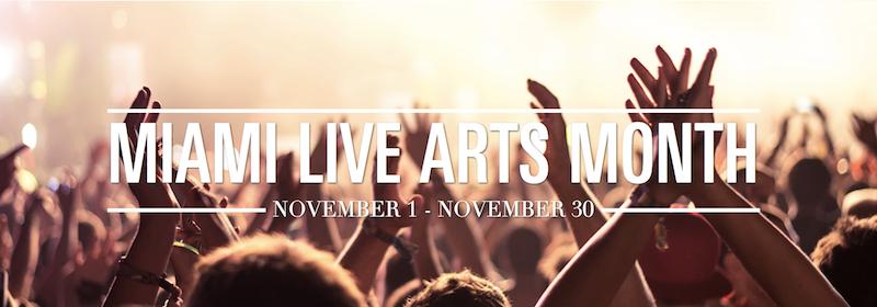 Miami Live Arts Month