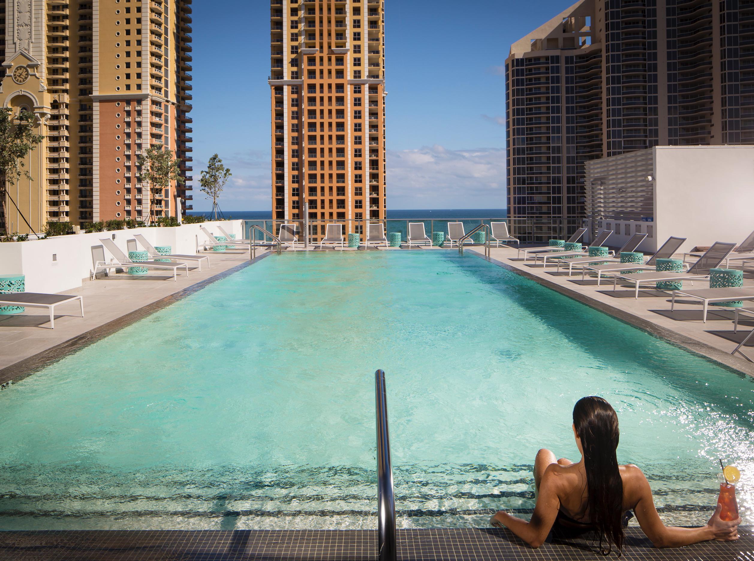 Ocean on 9 at Residence Inn Miami Sunny Isles beach