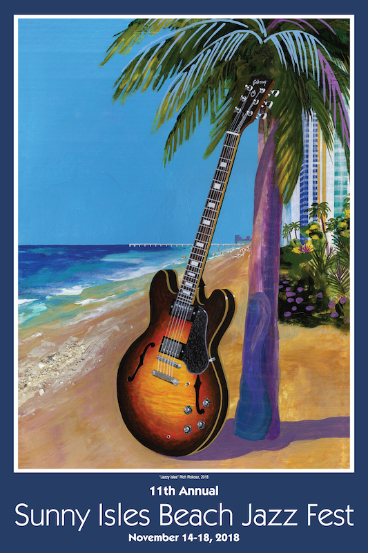 Jazz Fest Poster Contest 11th Annual Sunny Isles Beach Jazz Fest