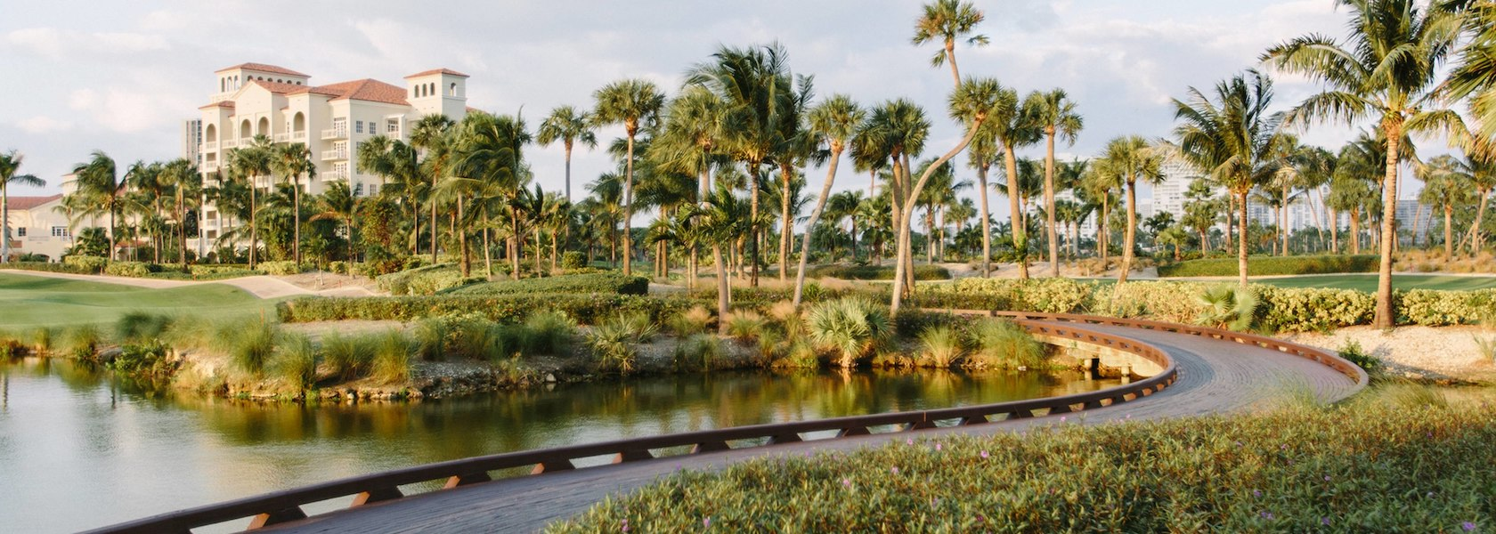 Golf path at JW Marriott Turnberry Isle