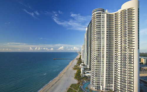 Aerial view of Sole Miami