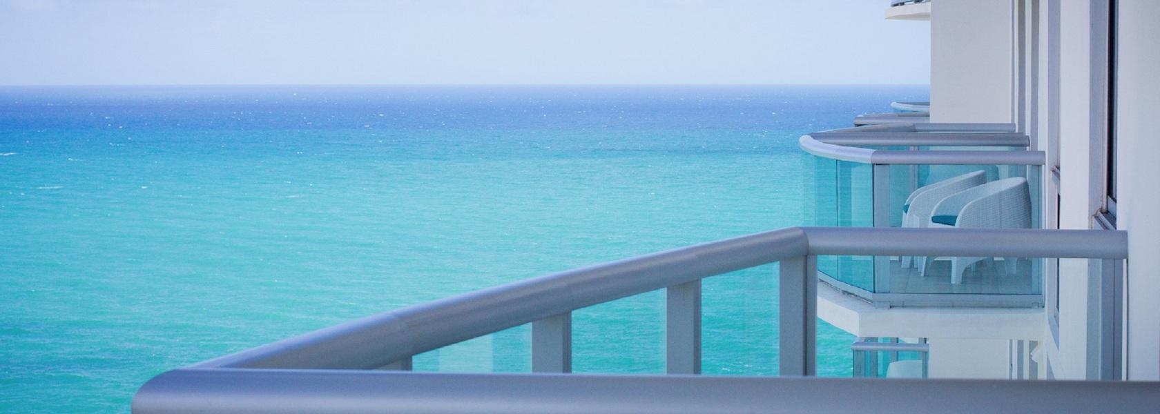 Balcony view from Marenas Beach Resort