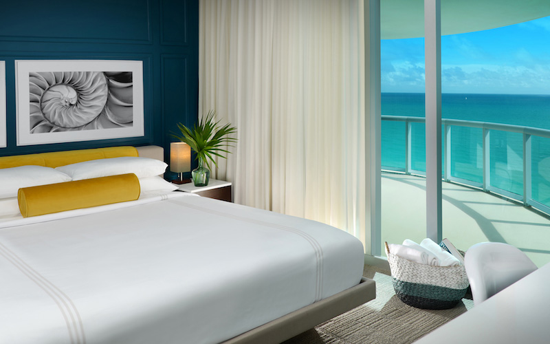 Sole Miami Guest room