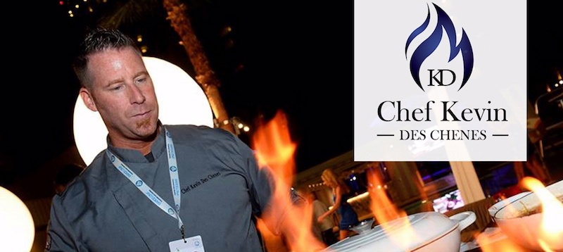 """Join Celebrity Chef, Kevin Des Chenes, and author of, """"Beyond My Chef Coat,"""" on Friday, February 22 during South Beach Food & Wine Festival for an exclusive 5-course dining experience."""