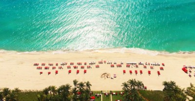 Acqualina Resort aerial