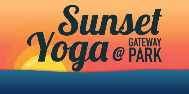 Sunset Yoga at Gateway Park