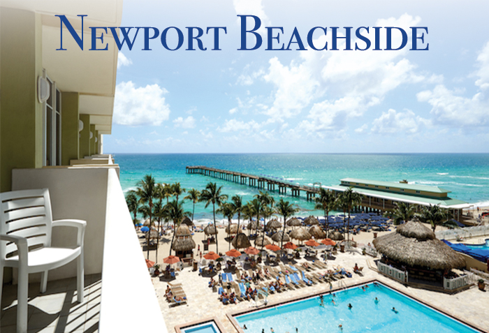 Newport Beachside Hotel & Resort Pool Overlooking