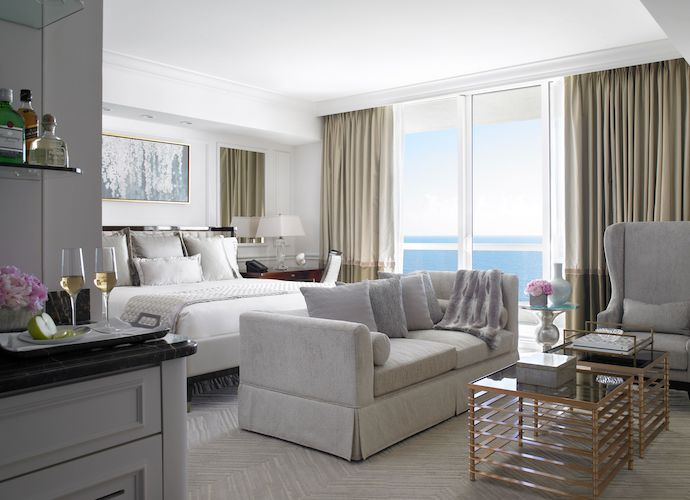 Acqualina Resort room interior