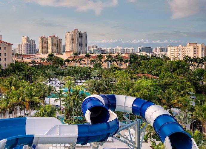 Tidal Cove Waterpark at JW Marriott Turnberry Isle Miami
