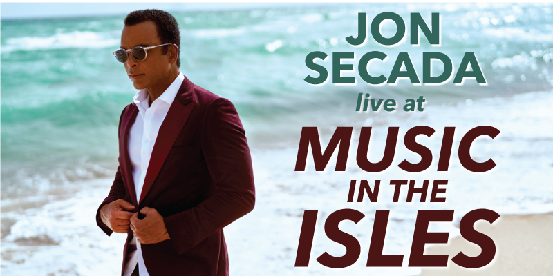 Jon Secada live at Music in the Isles