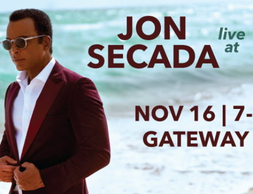 Jon Secada is live at Music in the Isles in Sunny Isles Beach