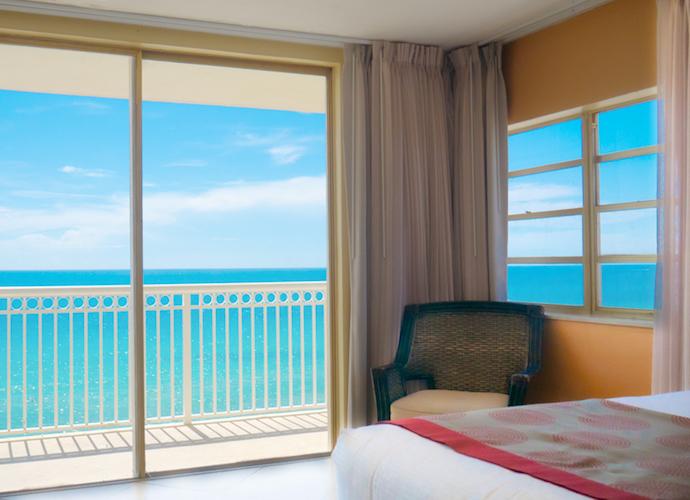 Ocean front 2 bedroom suite at Marco Polo Beach Resort