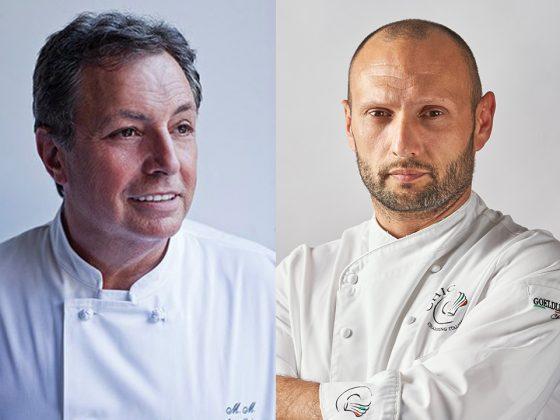 Chefs Mazza and Stanzione