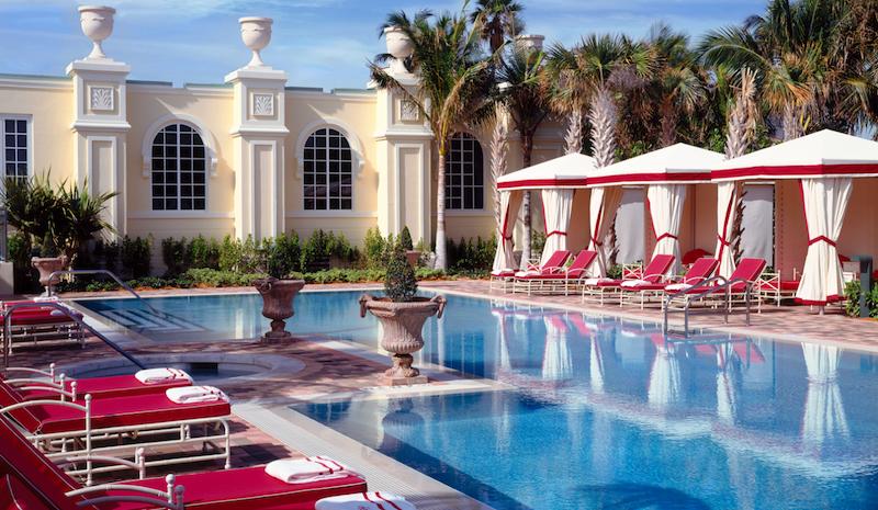 infinity pool at Acqualina Resort & Residences