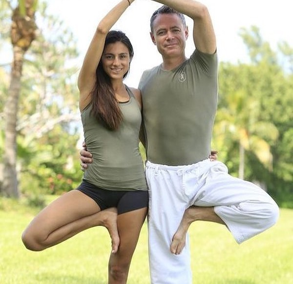 At Home Yoga with Acqualina