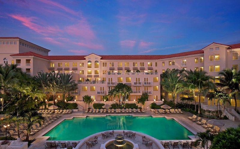 exterior of JW Marriott Turnberry Miami