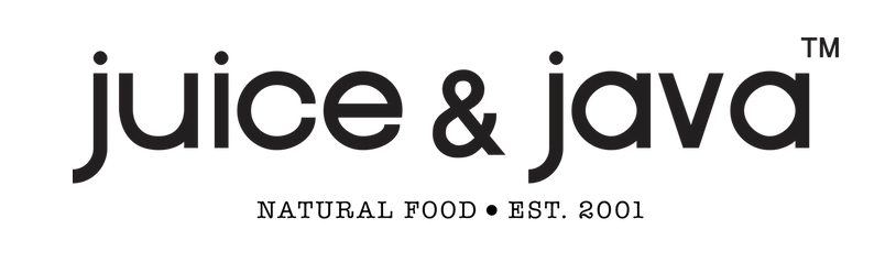Juice and Java Natural Food Established 2001