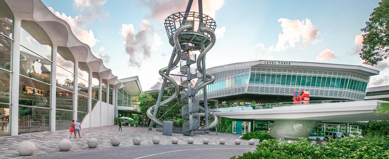 Exterior of Aventura Mall