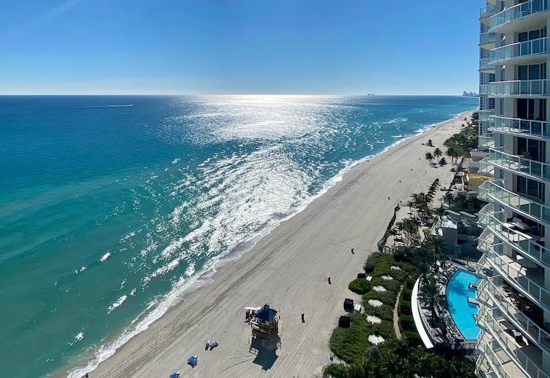 Marenas Beach Resort with coastline view