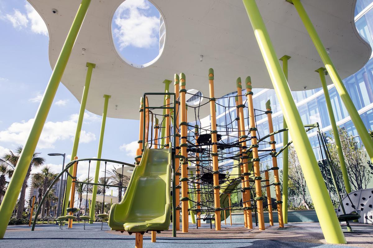 Playground at Samson Oceanfront Park