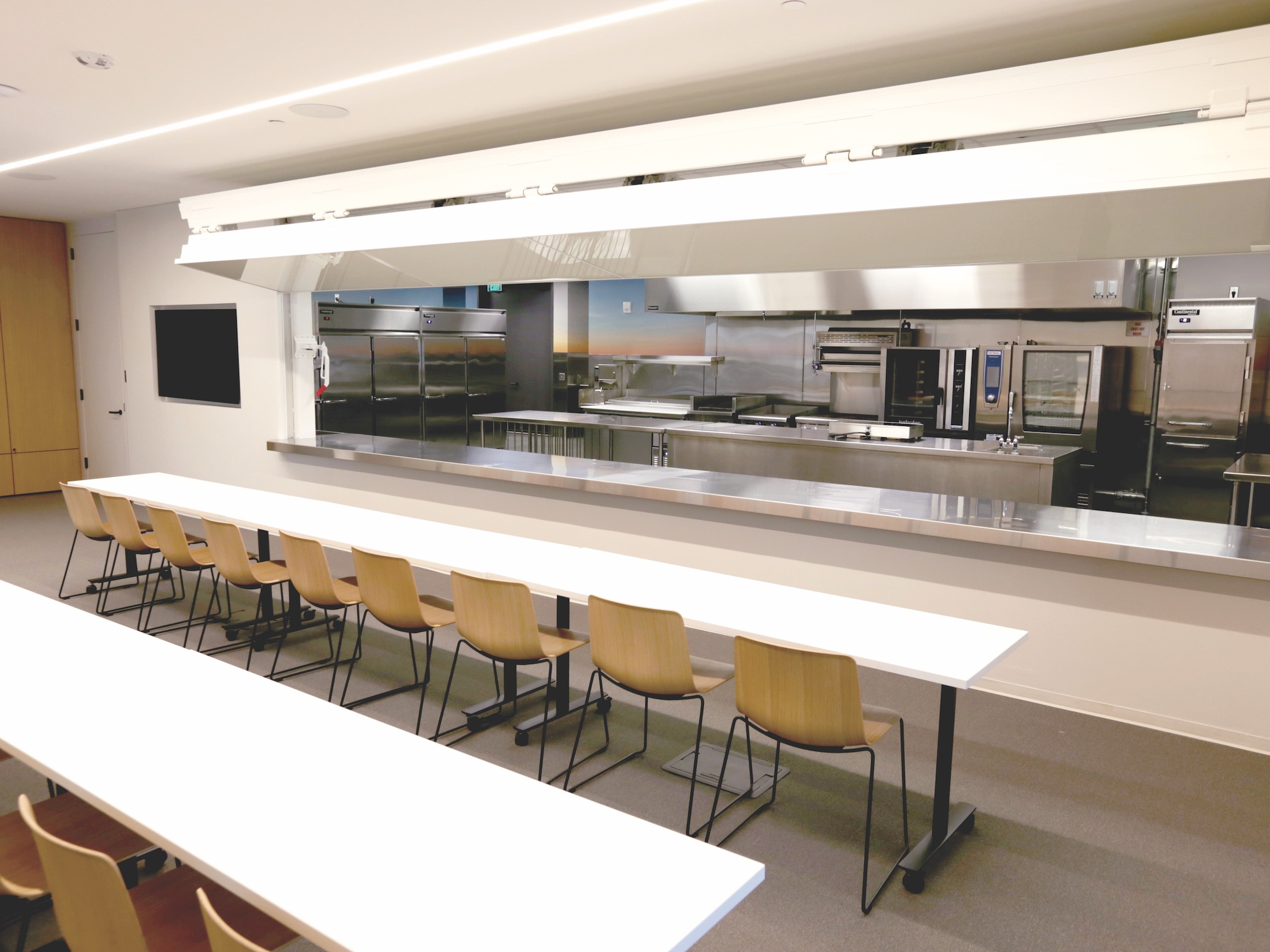 Gateway Center Kitchen with classroom area