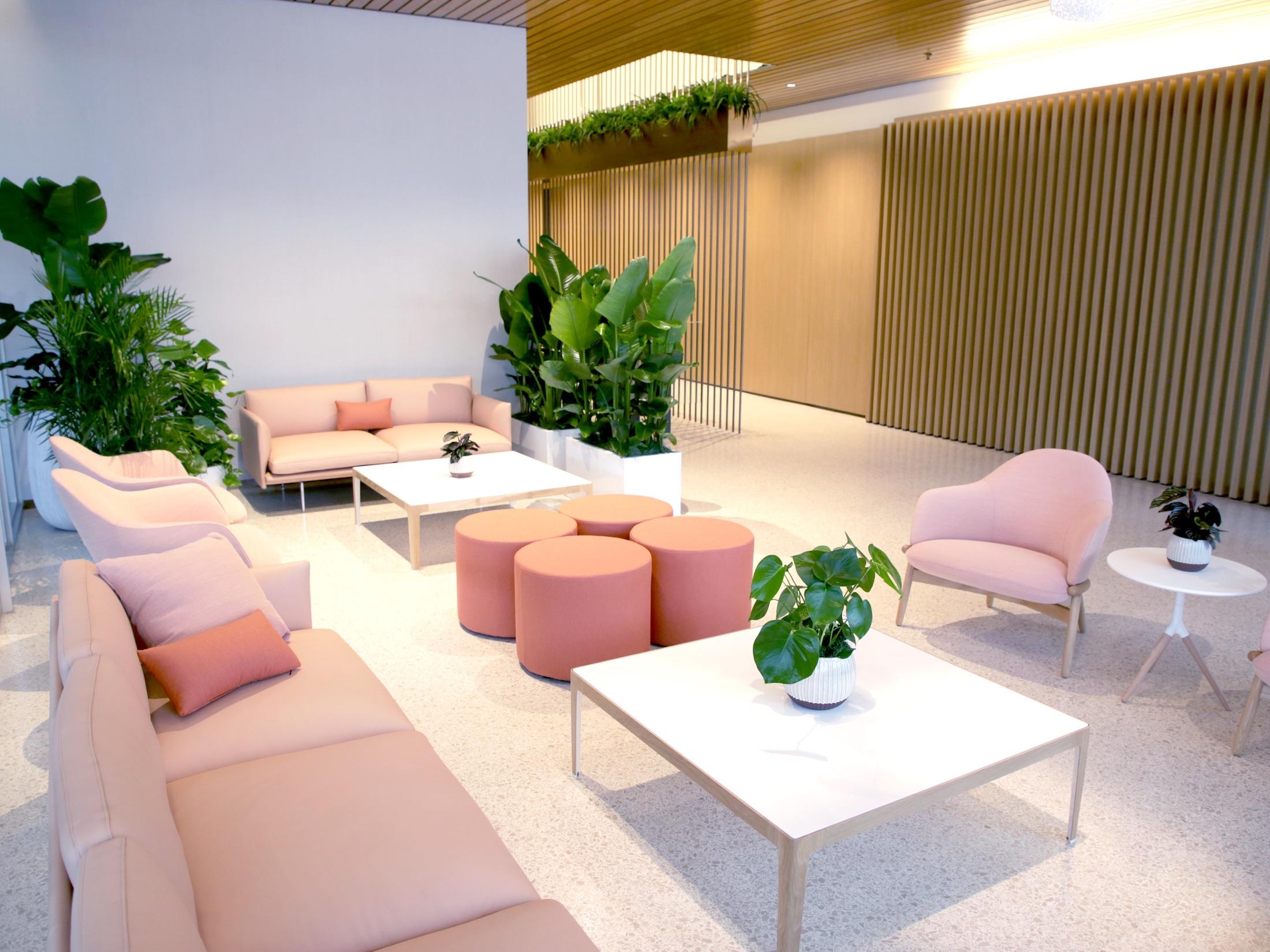 Gateway Center seating area