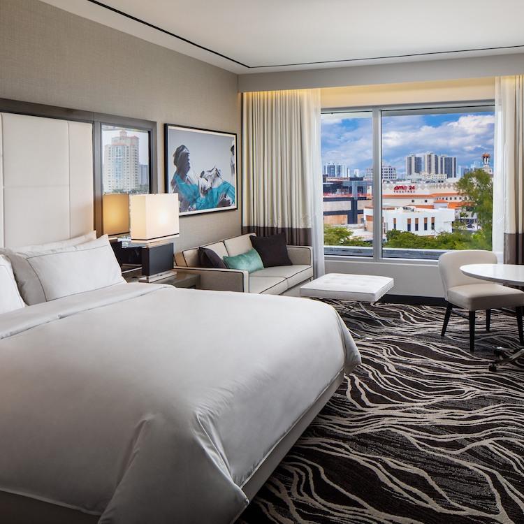 Room at Hilton Aventura Miami